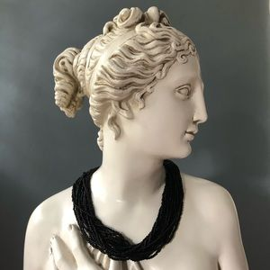 Vintage Multi Strand Seed Bead Necklace